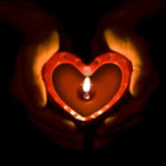 Tantric fire in the heart