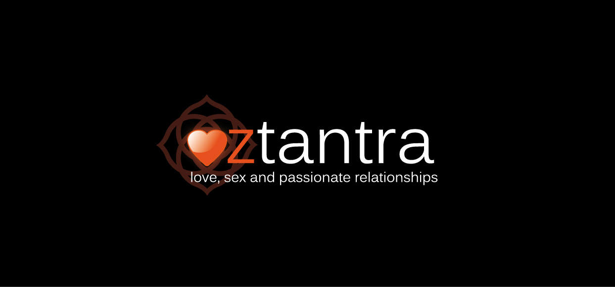OZTANTRA - logo on BLACK - hires
