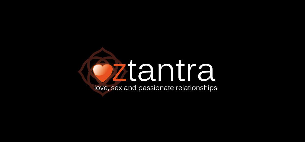 OZTANTRA - logo on BLACK - hires
