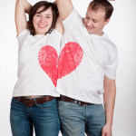 Tantric Couple In Heart Shirt