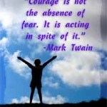 fear takes courage quote