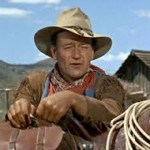 Slow movies with John Wayne