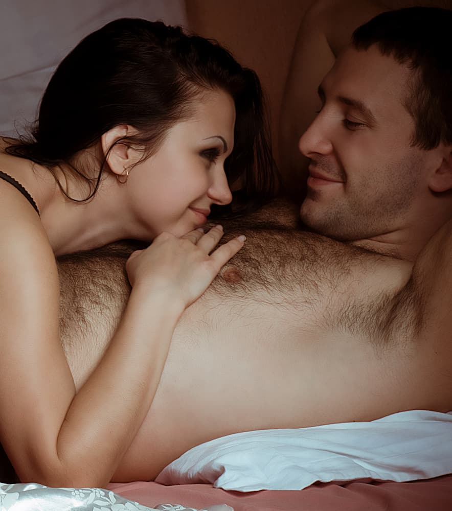 Couple Talking During Sex